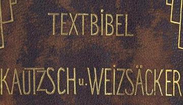 Beim Klick hier öffnet sich das Vorwort der Textbibel!